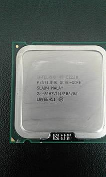 Процессор Е2220 б.у