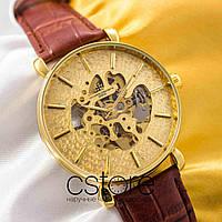 Мужские наручные механические часы Vacheron Constantin geneve gold gold (05005)