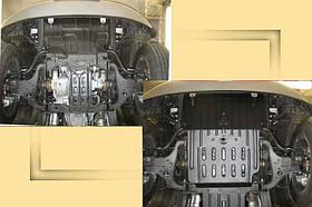 "Защита радиатора Infiniti Qx-56 2010-> 5,6L ""Полигон"" (St)"