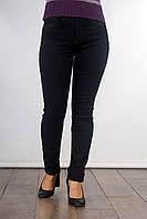 Стильные женские однотонные джинсы с высокой посадкой 206