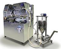 Отсадочная машина «Питпак ОП2» универсальная для печенья с начинкой, пряников, зефира, эклеров, профитролей