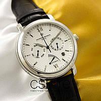 Мужские наручные механические часы Vacheron Constantin automatic silver silver (05029)