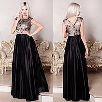 3009f14569f7d64 Черное атласное платье в категории платья женские в Украине ...