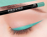 Полуперманентный гелевый карандаш для глаз №79 PROVOC Gel Eye Liner Lucky You