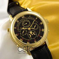 Мужские наручные часы Patek Philippe sky moon gold black (05036), фото 1