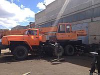Узлы и механизмы рабочего оборудования крана КС-35715
