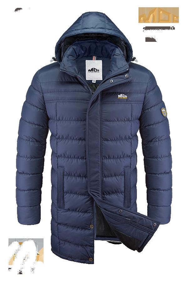 Зимняя мужская удлиненная куртка MOC арт. 0090