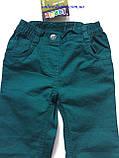 Лёгкие детские брюки Lupilu на девочку 1-1,5 года, рост 86, фото 3