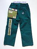 Лёгкие детские брюки Lupilu на девочку 1-1,5 года, рост 86, фото 4