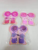 Детский подарочный набор. 12 штук в упаковке. Очки, резинки, заколки