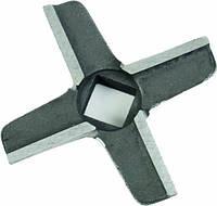 Нож для мясорубок Bosch (оригинал) код 620949, 028887 (квадрат 9,5 х 9,5)
