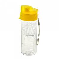 Бутылка для воды 450ml 60.2 пластиковая желтого цвета
