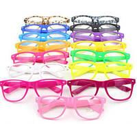 Имиджевые очки с прозрачной линзой