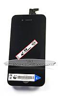 Дисплейный модуль Apple iPhone 4s, чёрный, фото 1
