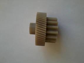 Шестерня для мясорубки Delfa,Saturn,Vitek Диаметр нижней 46мм, 54 зуб диаметр нижней 18мм, 16 зуб, фото 2
