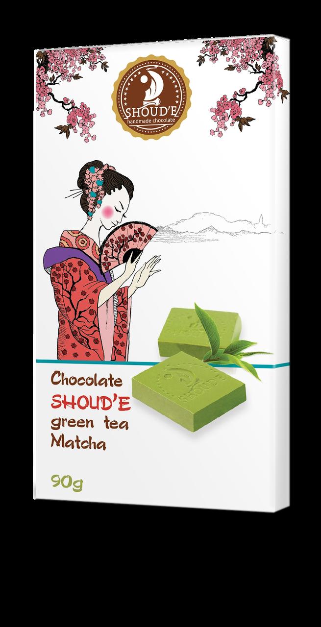 """Шоколад """"Зеленый чай Matcha"""""""