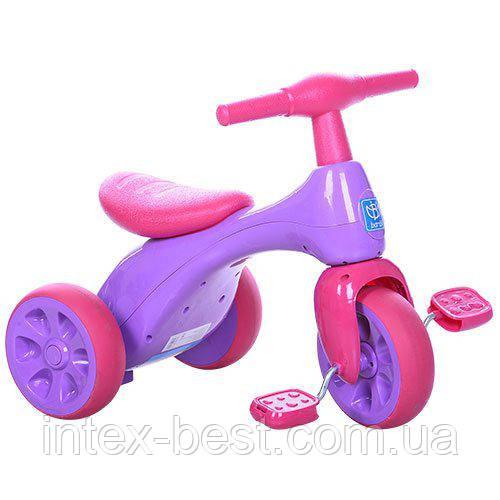 Детский трехколесный велосипед Bambi (601S-8)