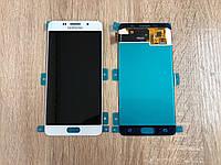 Дисплей на Samsung A510 Galaxy A5(2016) Белый(White),GH97-18250A, Super AMOLED!
