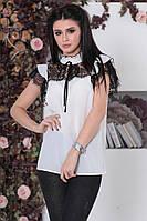 Блузка женская белая 24109, фото 1