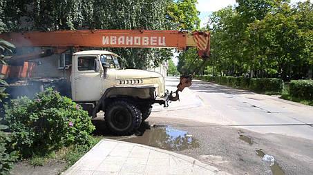 Спецификация оборудования и механизмов автокрана КС-3574