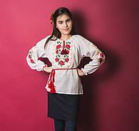 """Детская сорочка вышиванка для девочки """"Роза"""""""
