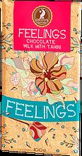 """Шоколад """"Почуття"""" молочний з тахін 100 г"""