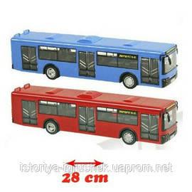 Троллейбус автобус 9690 А, В, С, Д Инерционный, звук. Автопром