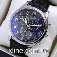Мужские наручные часы Tissot T14 на кожаном ремешке