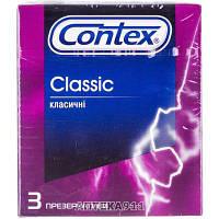 Презервативы CONTEX (Контекс) Classic EVRO (Классик евро) классические 3 шт