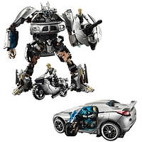 Трансформер автобот Джаз и капитан Леннокс - Jazz&Lennox, TF2, Human Alliance, Hasbro