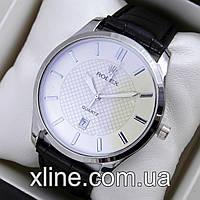 Мужские наручные часы Rolex T05 на кожаном ремешке