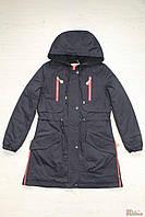 Куртка парка синего цвета (140 см.)  Anernuo 2129000403005