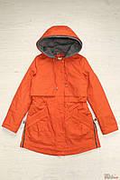 Куртка парка для девочки оранжевого цвета (158 см.)  Anernuo 2129000402954