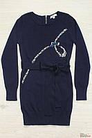 Платье синего цвета со стразами (152 см)  My Kingdom 2129000400493