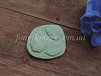 Молд лист Кустовой Розы тройной, фото 1