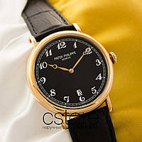 Мужские наручные часы Patek Philippe grand complications gold black (05120), фото 1