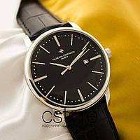 Мужские наручные часы Vacheron Constantin historique silver black (05121)