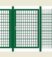 Калитка без замка (0,97х1 м) в ПВХ покрытии Фрунзе