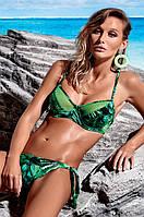 Мягкий купальник с принтом листьев Miss Marea 18404 44 Зеленый MissMarea 18404