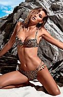 Леопардовый купальник push up Miss Marea 18406 40 Коричневый MissMarea 18406