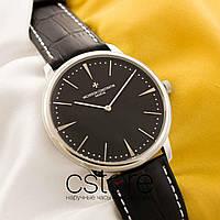 Мужские наручные часы Vacheron Constantin historique silver black (05129)
