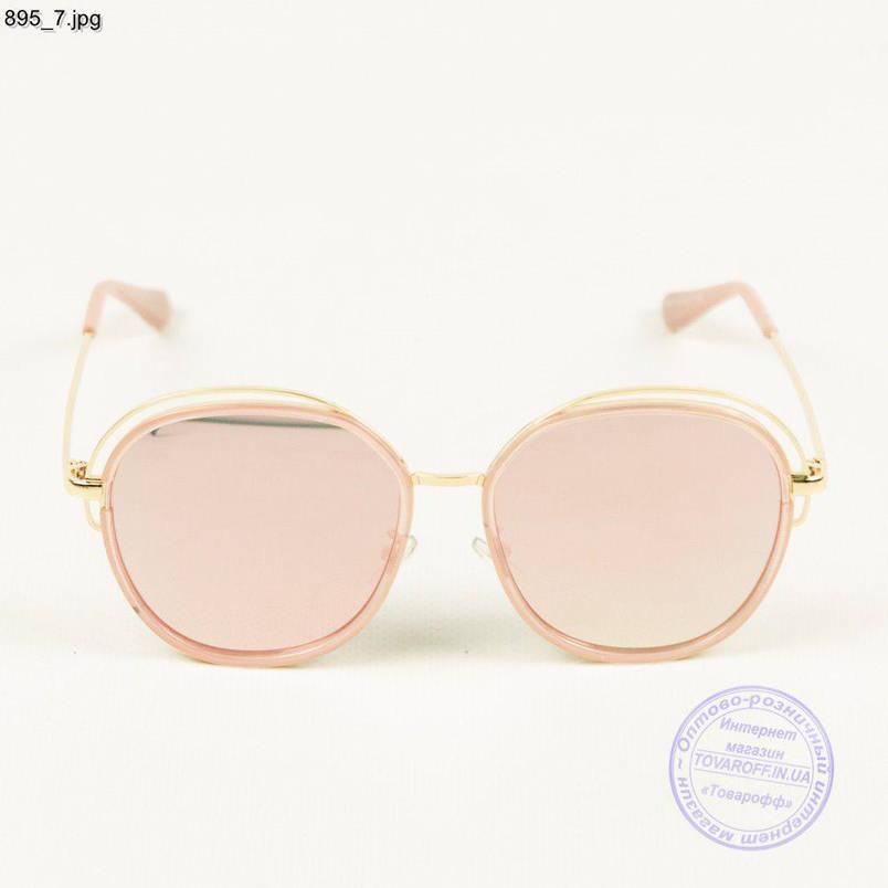 Кольорові дзеркальні окуляри - 895/2, фото 2