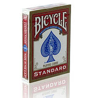 Игральные карты Bicycle Standard Index (Rider Back) красные