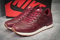 Кроссовки мужские Nike MD Runner, бордовые (11791), р. 41-46