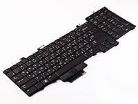 Клавиатура Dell Precision M6400. RU, Black, With point stick, Подсветка