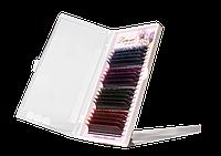 Ресницы Lammour с цветными кончиками [9-13 мм] (20 линий)