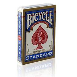 Карты для покера Bicycle Standard Index (Rider Back) синие