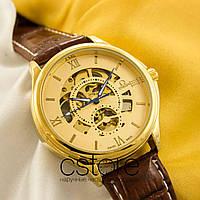Мужские наручные часы Omega classic gold gold (05208), фото 1