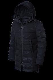 Мужская длинная зимняя куртка больших размеров (р. 48-62) арт. 9098А