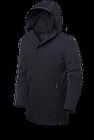 Мужская удлиненная зимняя куртка большого размера (р. 48-62) арт. 9019А